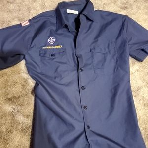 Boy scouts of america uniform shirt
